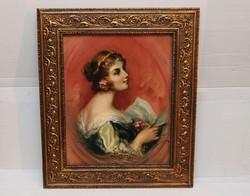Innocent Ferenc - Női portré