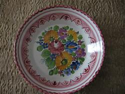 GMUNDNER fali tányér, dísztányér