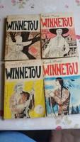 Winnetou 1976  1-4 kötet eladó!