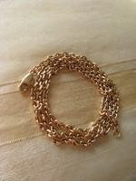 Arany anker lánc 21,5 gr.