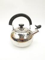 Krómozott teáskanna - fém vízforraló kanna kiöntő