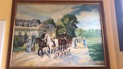 Wilhelm Velten 19.századi festmény
