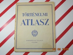 Történelmi atlasz 1962 - retro tankönyv