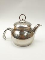 Krómozott teáskanna kávéskanna - teás vagy kávés kiöntő