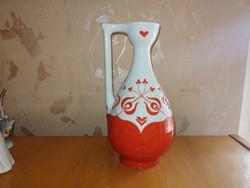 Zsolnay váza kiöntő