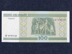 Fehéroroszország UNC 100 Rubel bankjegy 2000 / id 8639/