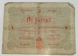 5 forint 1848/3
