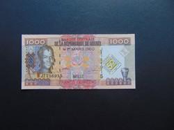 1000 frank 2006 Guinea UNC !