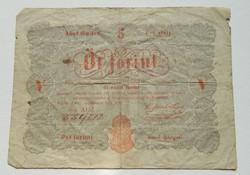 5 forint 1848/4