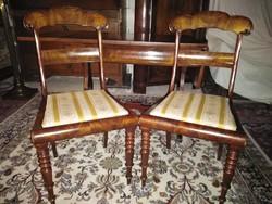 2db biedermeier szék