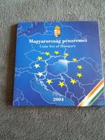 2004 évi Magyarország pénzérméi PP forgalmi sor disztokos Uniós csatlakozás 50 Ft