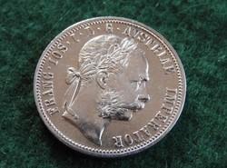 1882 1 Florin ezüst EXTRA RITKA KERESETT ÉVJÁRAT Ritkán kerül ilyen állapotban aukcióra