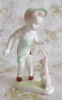 Aquincumi porcelán szobor