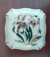Zsolnay Orchidea mintás bonbonier