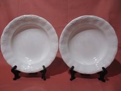 2 db Kispesti Gránit tányér