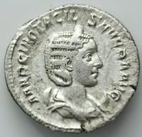Otacilia Severa, AR 3.55gr; 22mm,antoninianus. Rome, AD 244-249.