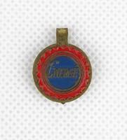 0X757 Antik kisméretű EMERGÉ reklám csipesz