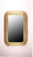 Biedermeier Tükör, aranyozott, fa kerettel