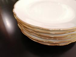 6 db gyönyörű desszertes tányér hibátlan állapotban