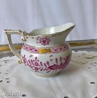 Herendi indiai kosármintás teás-készlet kiöntője