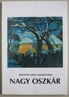 Nagy Oszkár monográfiája (könyv)