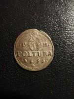 1696 I. Lipót poltura szép állapotban