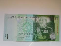 Tonga 1 pá' anga 2009 UNC