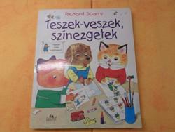 Richard Scarry Teszek - veszek színezgetek, 1995
