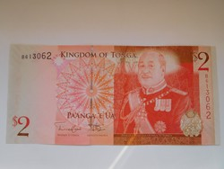 Tonga 2 pá' anga 2009 UNC