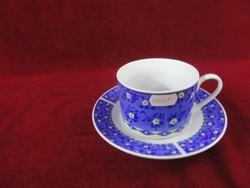 Blue lion, blue saray jelzésű keleti porcelán teáscsésze + alátét.