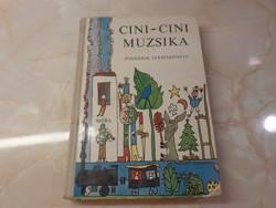 Cini - cini muzsika óvodások verseskönyve,  1969