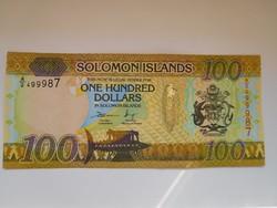 Salamon szigetek 100 dollár 2015 UNC Hibrid