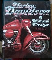 Harley Davidson. Tom Rafferty. A motorok királya. Jlx kiadó 1994. alkudható!