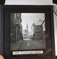 Üveg fotó negatív 1930 Mödling