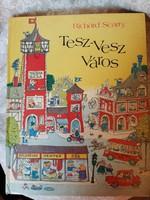 Tesz-Vesz Város 1988 ritka kiadás