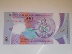 Vanuatu 500 vatu 2017 UNC
