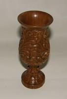 Fafaragás (Kézi faragású dísz kupa)