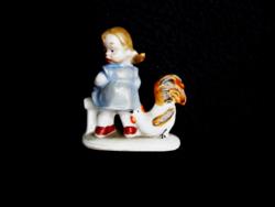 Wagner & Apel ritka kakaskás miniatúra gyűjteményemből