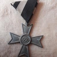 Német náci érdemkereszt,kardok nélkül, kitüntetés