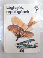 Kolibri Könyvek Léghajók repülőgépek könyv 1 db