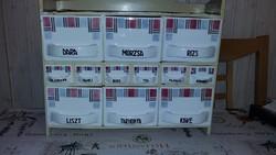 Fűszertartó 12 db  Gránit gyártmány