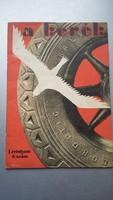 Berény Róbert reklámgrafikái - a kerék   autós újság 1928. I. évf 5. szám
