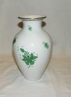 Herendi Apponyi mintás váza 24 cm