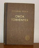 Koczkás Gyula: Örök törvények. A fizika regénye (1947)