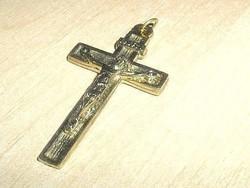 Régi Jézus Korpusz Kereszt Arany bev. Medál