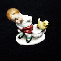 Wagner & Apel ritka madárkás miniatúra gyűjteményemből