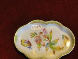 Herendi porcelán, Viktória mintás tálka, típusszáma: 7705/VBO.