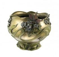 Virágos lepkés váza  (459)