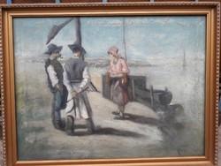 Móna Sándor debreceni festőművésztől