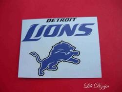 DETROIT LIONS / NFL HŰTŐMÁGNES